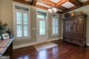 Coffered Ceiling - 1249 POPLAR RD, STAFFORD