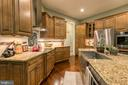 Gourmet Kitchen - 1249 POPLAR RD, STAFFORD
