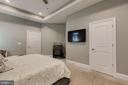 Master Bedroom with Tray Ceiling - 1249 POPLAR RD, STAFFORD