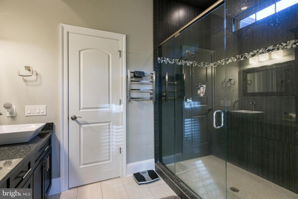 Master Spa with Dual Shower & heated towel bar - 1249 POPLAR RD, STAFFORD