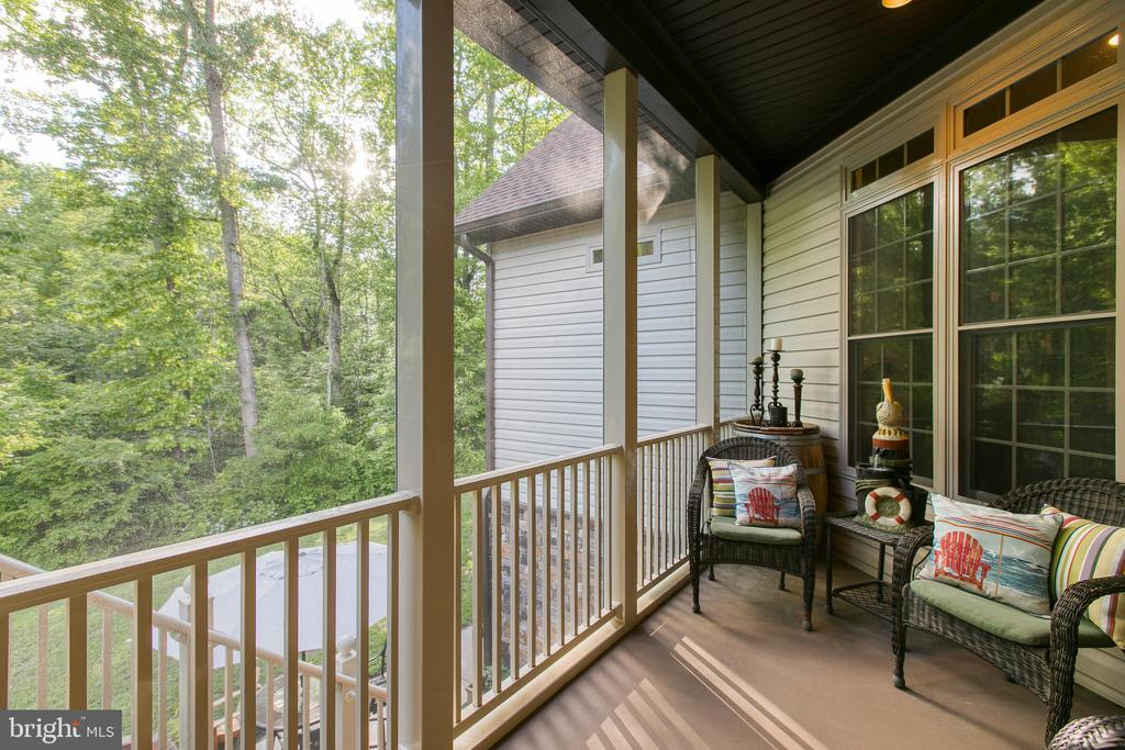 Screened-in Porch - 1249 POPLAR RD, STAFFORD