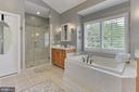 Master Bath - 43409 BLANTYRE CT, ASHBURN