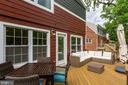 Spacious back deck - 4900 16TH ST N, ARLINGTON