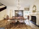 Main Level - Dining Room - 2344 MASSACHUSETTS AVE NW, WASHINGTON