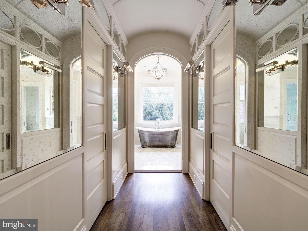 First Upper Level - Master Bedroom Hall - 2344 MASSACHUSETTS AVE NW, WASHINGTON