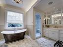 First Upper Level - Master Bath - 2344 MASSACHUSETTS AVE NW, WASHINGTON