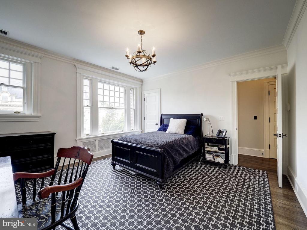 Second Upper Level - Bedroom #4 - 2344 MASSACHUSETTS AVE NW, WASHINGTON