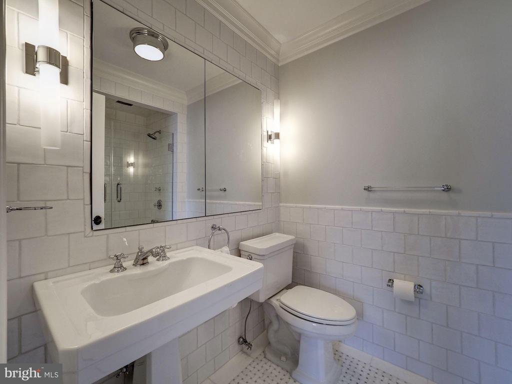 Second Upper Level - Bedroom #4 Bath - 2344 MASSACHUSETTS AVE NW, WASHINGTON