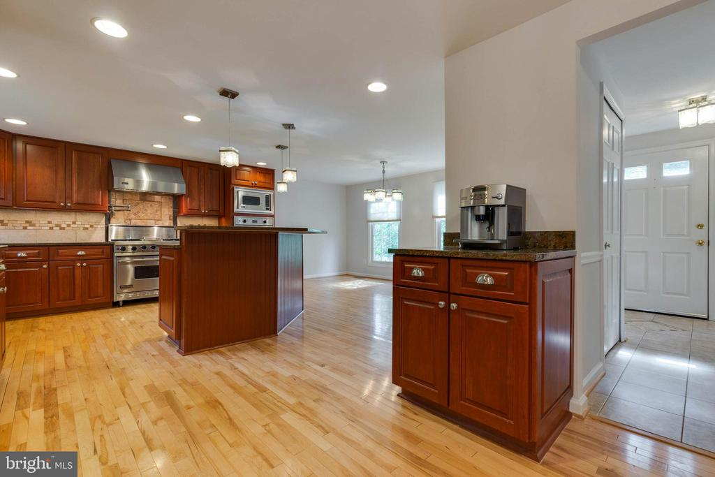 Coffee Station with Additional Cabinets - 628 3RD ST, HERNDON