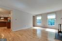 Bright Living Room with Hardwood Floors - 628 3RD ST, HERNDON
