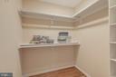 Master Bedroom Walk-in Closet - 6312 MILLER DR, ALEXANDRIA