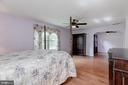 Second Master Bedroom - 6312 MILLER DR, ALEXANDRIA