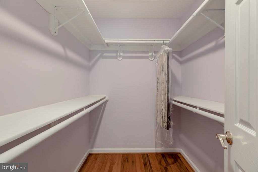 Second Master Bedroom Walk-in Closet - 6312 MILLER DR, ALEXANDRIA