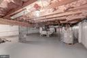 Lower Level Storage Room - 6312 MILLER DR, ALEXANDRIA