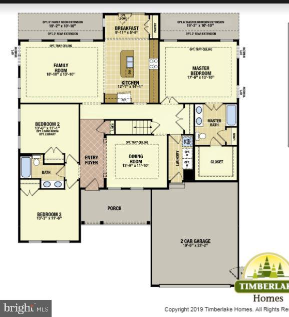 main floor plan - 12503 MEADOWOOD DR, SILVER SPRING
