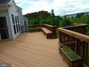 Deck View - 5322 SAMMIE KAY LN, CENTREVILLE