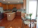 Kitchen and Breakfast Area - 5322 SAMMIE KAY LN, CENTREVILLE
