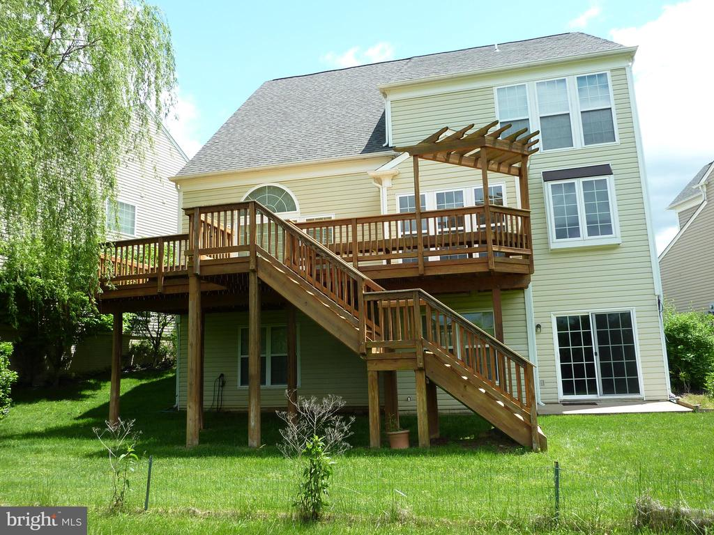 Back of the House - 5322 SAMMIE KAY LN, CENTREVILLE