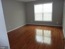 Bedroom 2 with New Hardwood Floor - 5322 SAMMIE KAY LN, CENTREVILLE