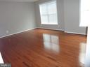 Bedroom 3 with New Hardwood Floor - 5322 SAMMIE KAY LN, CENTREVILLE