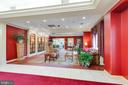 Great Lobby for Neighborhood Chats - 19385 CYPRESS RIDGE TER #715, LEESBURG