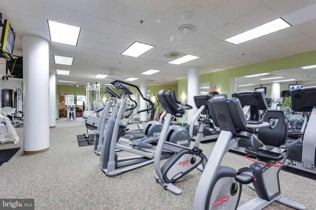 Stay Fit at the Club House - 19385 CYPRESS RIDGE TER #715, LEESBURG