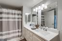 Master Bath w/ New Quartz Counters - 19385 CYPRESS RIDGE TER #715, LEESBURG