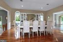 Brazilian cherry floors bring luxury to the dining - 17 AQUA TER, HAMILTON