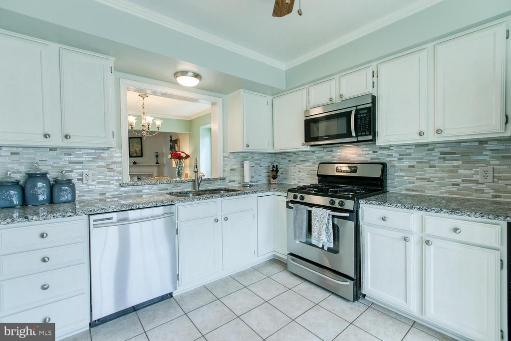 Stainless steal appliances - 606 FALKIRK CT, FREDERICKSBURG