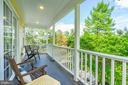 First Upper Level -  Porch Off Master Bedroom - 1929 N QUINCY ST, ARLINGTON