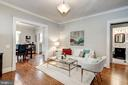 New hardwood floors throughout main level - 1703 N RANDOLPH ST, ARLINGTON