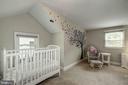 Second upper bedroom - 1703 N RANDOLPH ST, ARLINGTON