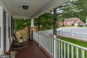 Welcoming front porch - 1703 N RANDOLPH ST, ARLINGTON