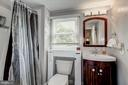 Upper level hall bathroom - 1703 N RANDOLPH ST, ARLINGTON