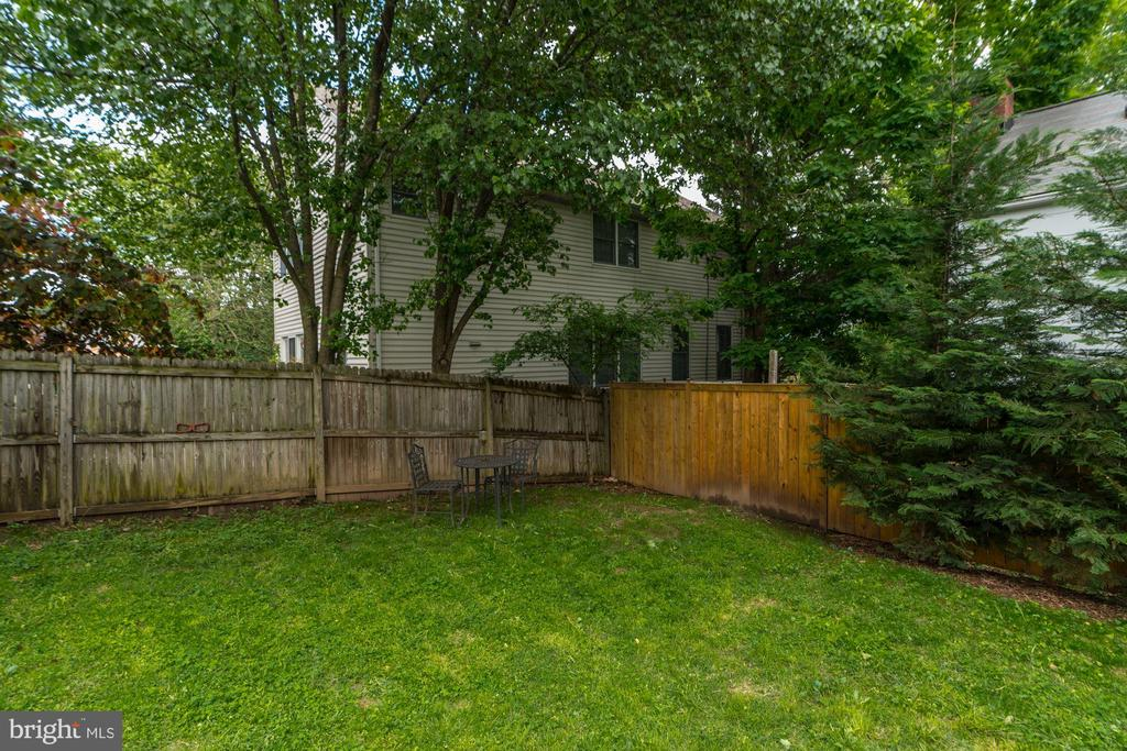 Fenced back yard is great for pets or kids - 1703 N RANDOLPH ST, ARLINGTON