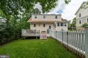 Flat grassy back yard - 1703 N RANDOLPH ST, ARLINGTON