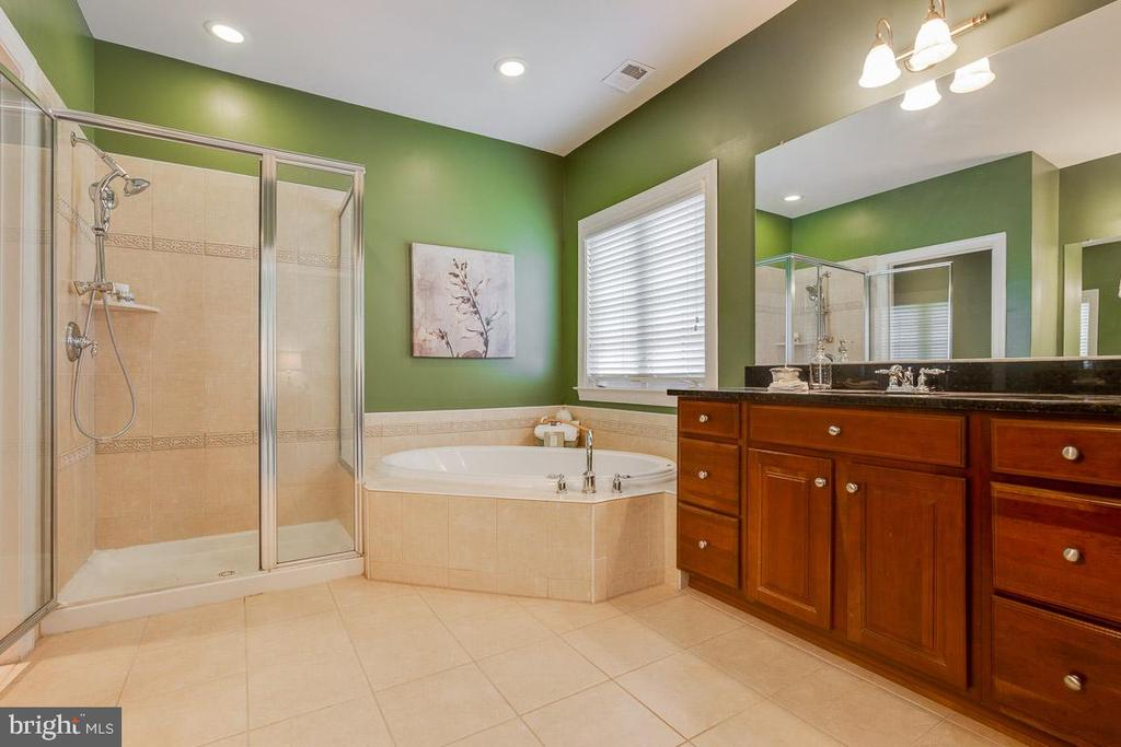 Master Bath w/ Double Sinks, Soaking Tub & Shower - 41777 PURPOSE WAY, ALDIE