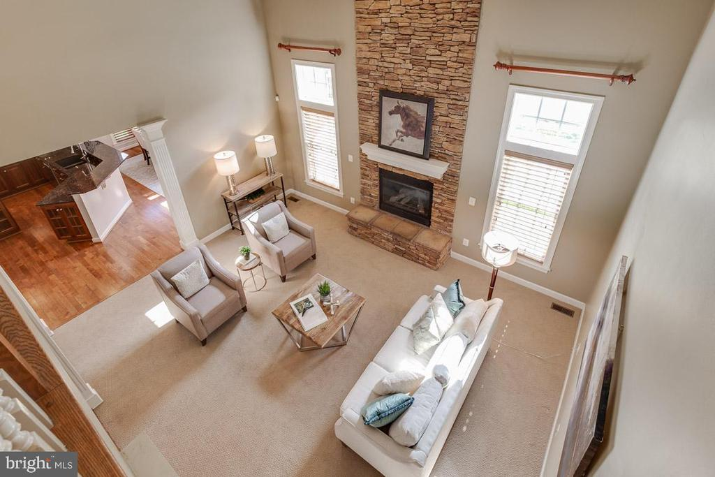 Family Room with View  From Top - 41777 PURPOSE WAY, ALDIE