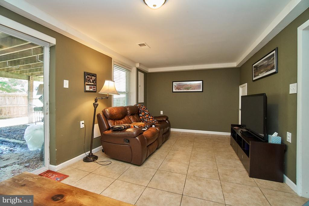 Lower Level Recreation Room - 6011 TICONDEROGA CT, BURKE