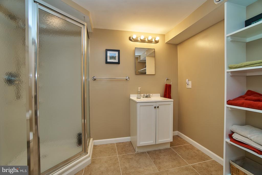 Lower Level Full Bath - 6011 TICONDEROGA CT, BURKE