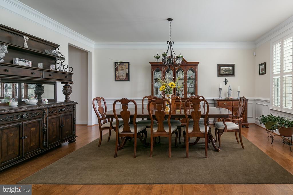 Dining room - 7560 HUNTER WOODS DR, MANASSAS