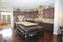 Gourmet Kitchen with Center Island. 7