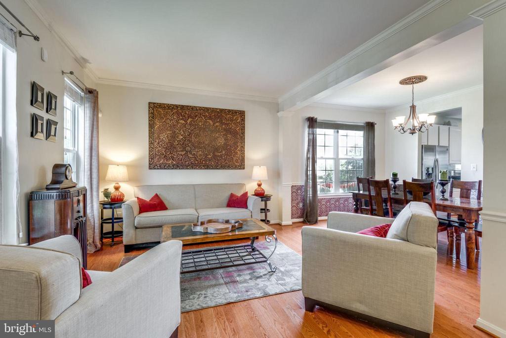 Living Room - 21486 PLYMOUTH PL, ASHBURN