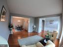 Livingroom with View of Dining Room - 5322 SAMMIE KAY LN, CENTREVILLE