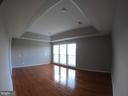 Master Bedroom w/ Tray Ceiling, New Hardwood Floor - 5322 SAMMIE KAY LN, CENTREVILLE