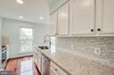 New counters and backsplash - 321 BARNFIELD SQ NE, LEESBURG