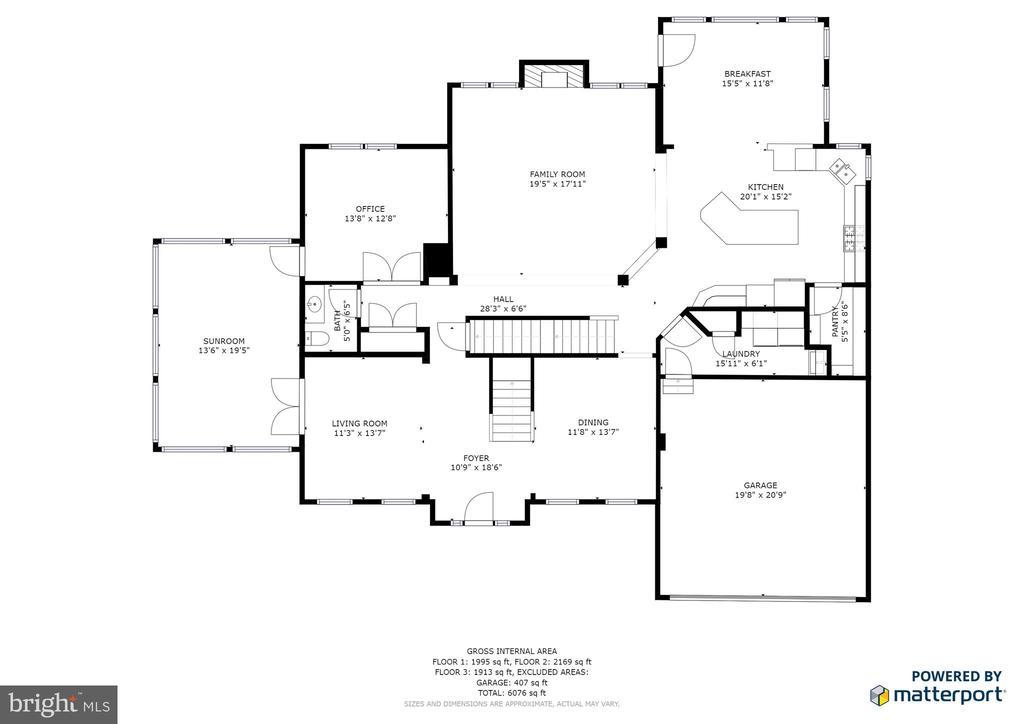 Main Floor - 3813 NALLS RD, ALEXANDRIA