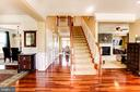 Huge open foyer - 16800 ANCHOR BEND CIR, WOODBRIDGE