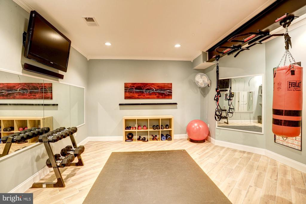 Home gym - most equipment conveys! - 16800 ANCHOR BEND CIR, WOODBRIDGE