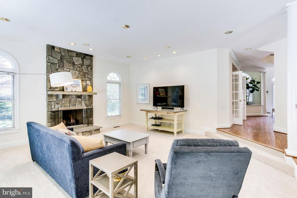 Family Room - 1144 ROUND PEBBLE LN, RESTON